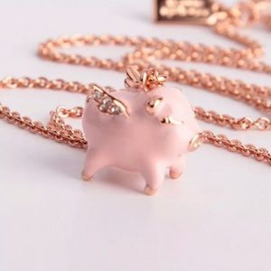 Kate spade when pigs fly necklace